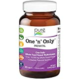 Pure Essence Labs One n Only Prenatal Vitamins - Organic One a Day