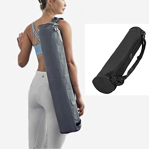 Dusenly Yoga Mat Bag Portable Waterproof Yoga Mat Carry Bag Durable Water-resistant Oxford...
