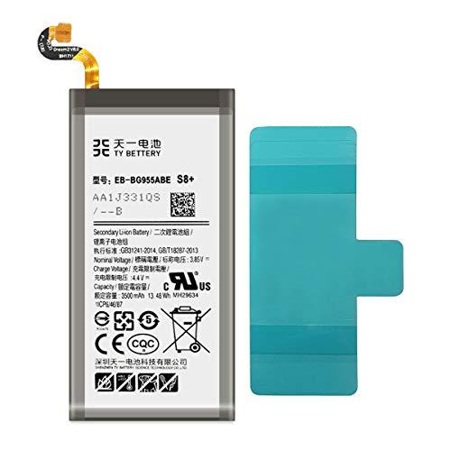 [TY BETTERY] Batteria compatibile con EB-BG955ABA Samsung Galaxy S8 PLUS