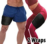 Thigh Compression Sleeve Hamstring Wraps - 2 Pack of Thigh Sleeves...