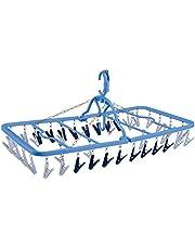 ダイヤ (Daiya) 洗濯 角ハンガー 40ピンチ 干し分け角ハンガーストロング40 衣類に合わせたピンチ 頑丈 大容量 壊れにくい ジーンズ キレイに干せる 057537