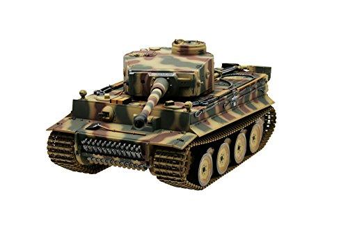 Tiger 1 Panzer mit Metallunterwanne Frühe Version IR Sommertarn Torro