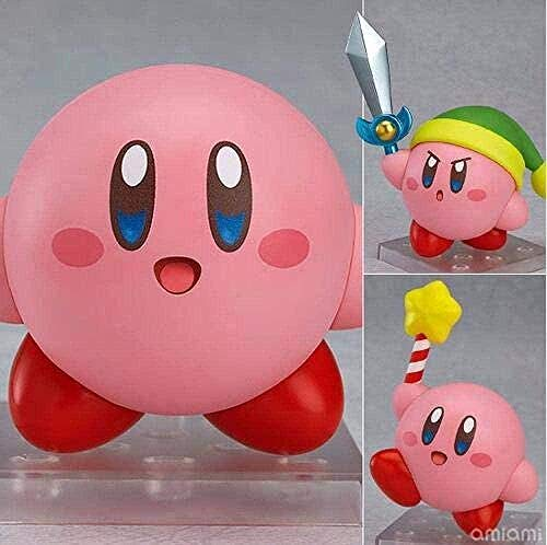 Land Kirby Nendoroid 544 Juego Anime Figura de acción Caja de Juguetes de PVC Coleccionable por Mer