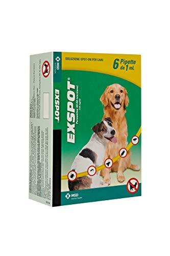 MSD ANIMAL HEALTH 103182010 EXSpot 6 Pipette 1 Ml