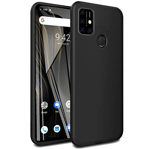 cookaR Crystal Clear UMI Umidigi Power 3 Hülle, Transparent Silikon TPU Case Ultradünn Soft Cover Handyhülle Schutzhülle für UMI Umidigi Power 3 Smartphone, Schwarz