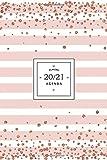 Agenda 2020 2021: Calendario 2020 2021 Luglio 2020 a Dicembre 2021 - 18 mesi Agenda Settimanale 2020 2021 - Planner, Office, Quaderno, Agende e Agenda Giornaliera