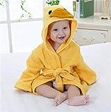 2-6 Jahre Baby Robe Cartoon Hoodies Mädchen Jungen Nachtwäsche Gute Qualität Badetücher Kinder Weicher Bademantel Pyjamas Kinderkleidung-a63-0-12M(S Size)