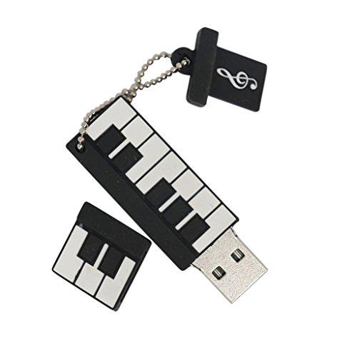 Gazechimp Portàtil Micro Usb Mini Pendrive de Forma Piano Pequeña de moda...