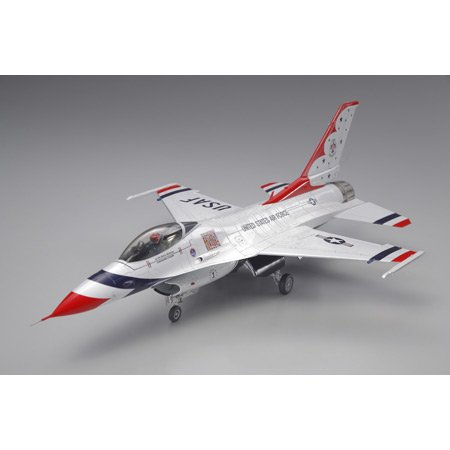 タミヤ 1/48 傑作機シリーズ No.102 アメリカ空軍 F-16C ブロック32/52 サンダーバーズ プラモデル 61102