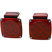 MaxxHaul 12V LED Trailer Tail Lights