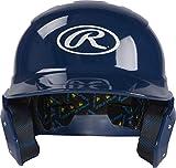 Rawlings Mach Alpha Baseball Batting Helmet, Navy, Large, 30 inch (MCH01A-N-90)