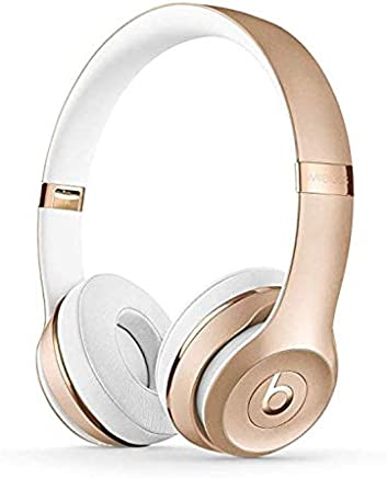 Beats by Dr. Dre. Solo3 Wireless Headphone Customize to Select Color Gold, Rose Gold, Black, Red and More