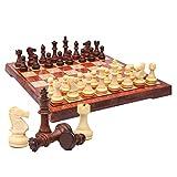 Tablero De Ajedrez Plegable, Ajedrez Magnetico Chess Game Set ajedrez portatil Juego de ajedrez Plástico para Actividades Familiares de Fiesta