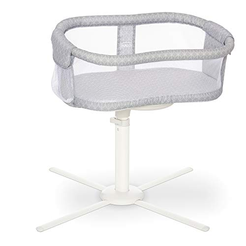 HALO BassiNest Swivel Sleeper, Bedside Bassinet, Essentia Series, Morning Mist