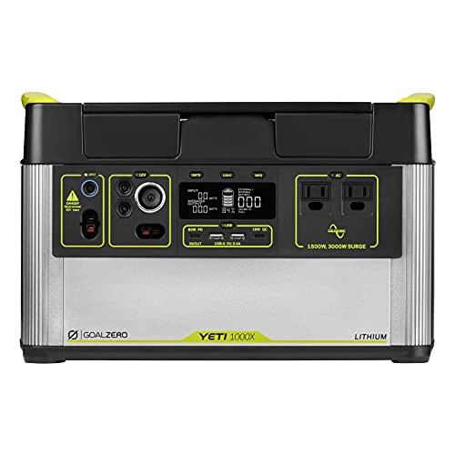 Goal Zero Yeti 1000X Portable Solar Generator