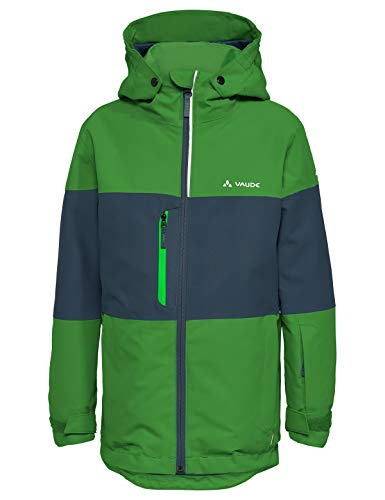 VAUDE Unisex Kinder Kids Snow Cup Jacket Jacke,parrot green, 146/152