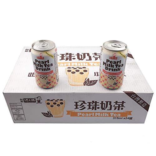 珍珠奶茶【24本セット】 タピオカミルクティー パールミルクティー 315mlX24本 台湾産