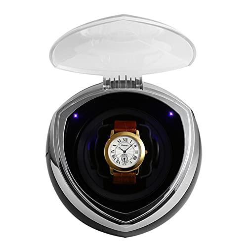 GUOYUN Sola Winder De Reloj Automático con Motor Silencioso, Ajustes Modo De Rotación, Adecuado para Reloj De Pulsera para Hombres Y Damas (Color : Black)