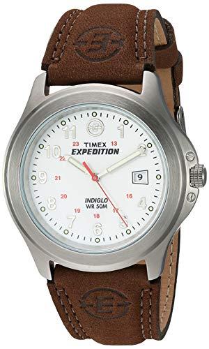 Expedition Herren-Armbanduhr Analog Leder braun T44381D7