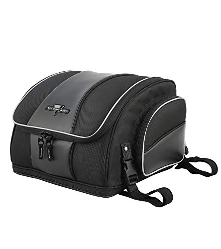 Nelson-Rigg NR-215 Route 1 Weekender Backrest Rack Bag, Black, One Size