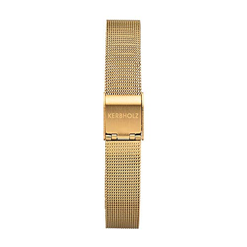 Kerbholz Damen Edelstahl Uhrenarmband WATWLUI5766