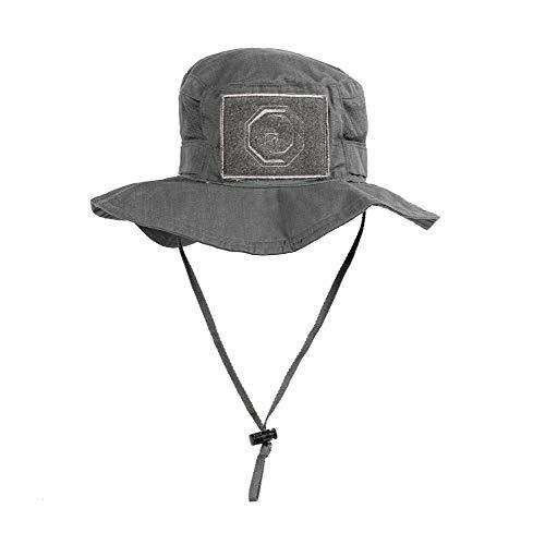 TRAINLIKEFIGHT - Unisex-Hut für Crossfit, Einheitsgröße, verstellbar., Unisex, Grau / Wolfgrau, M
