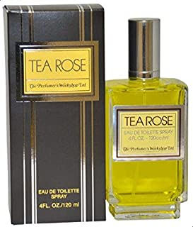 Tea Rose by r's Workshop for Women - 4 Ounce EDT Spray