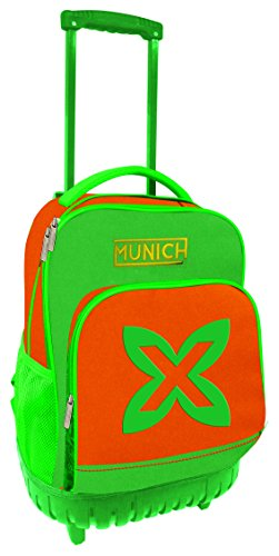 Munich Colors 353728 Maleta, 46 cm, 19 Litros, Verde