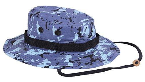 Rothco Boonie Hat Sky Blue Digital Camo - (7 1/4) Inch