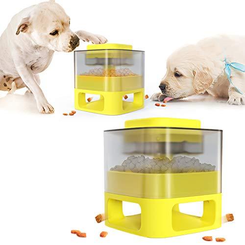 Dispensador de Comida para Perros, SUNASQ Toys IQ Treat...