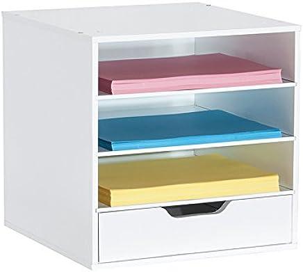 Amazon com: Simply Built 3-Shelf and Drawer Organizer Cube