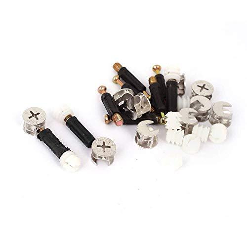 Mobili Camma Montaggio Pre-Inserto Dado Giunto Connettore Metallo Plastica 10 Set Creativo e Utile
