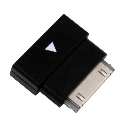 BlastCase Dock Extender 30pin Extension Adapter Cable for Apple iPad2 iPhone 4 3G iPod -Black