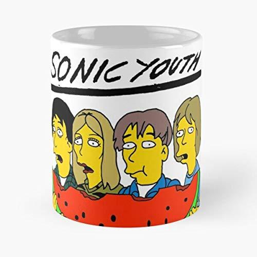 Thurston Sonic Ranaldo Youth Gordon Album Lee Evol Artist Kim Moore Cover Mejor Taza de café de cerámica de 325 ml Personalizar