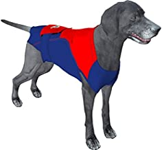 Surgi~Snuggly Dog Onesie for Surgery E Collar Alternative Protects Your Pet's Wounds, Made with American Textile, Safe for Pet's, Hugs Away Your Pets Anxiety, Plus It's Easy On Easy Off (S - BR)