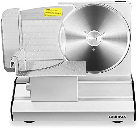 CUSIMAX Meat Slicer Electric Deli Food Slicer with 2 Removable 8 7 Stainless Steel Blade Adjustable product image