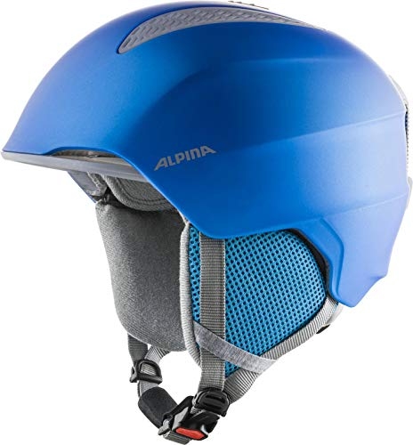 ALPINA Unisex - Kinder, GRAND JR Skihelm, blue, 54-57 cm