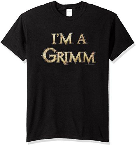 Wicked Tees Herren Grimm Kurzarm I'm A Grimm XLarge T-Shirt Tee Größe XL