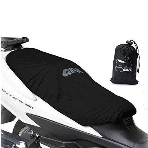 S210 - Funda para sillín de scooter compatible con Piaggio Medley 150 i-Get, impermeable, color negro