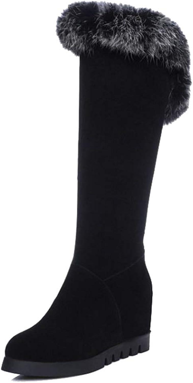 SJJH Women Fashion Knee High Boots