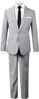 suit gray black