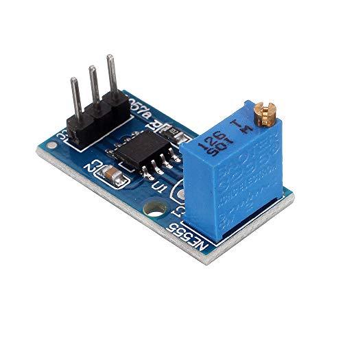 Modulo electronico NE555 frecuencia ajustable 3pcs módulo generador de impulsos de coches Smart