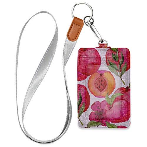 Porta carte per ID Nectarine Fruit Design Porta badge in...