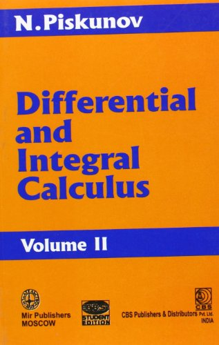 Differential and Integral Calculus: v. II