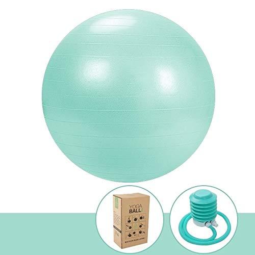 Explosionsgeschützte Gymnastikball, 55cm 65cm 75cm Yoga-Ball, Ball verdickte Gleichgewichts for Pilates Geburt Therapie Physiotherapie Haus Fitness-Studio Büro Ball Stuhl mit schnellen Pumpe Erstellen