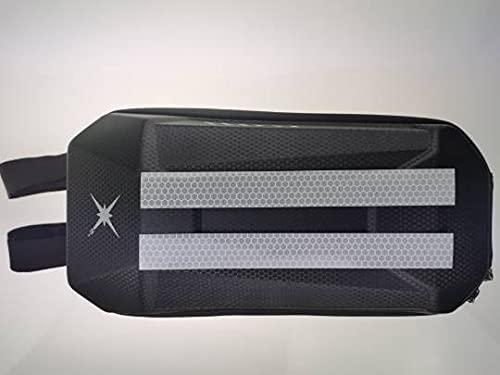 Bolsa para patinete eléctrico de 3,5 l – Bolsa portaobjetos impermeable para manillar con reflector, compatible con Segway Ninebot y Xiaomi Mi