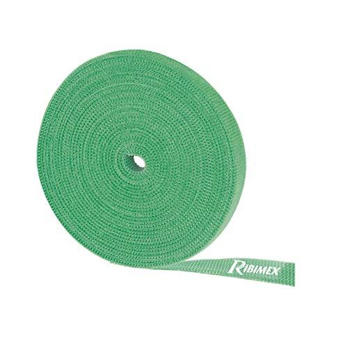 Ribiland 9007 - Lien Rapide par Scratch - 10 mm x 5 m - Vert