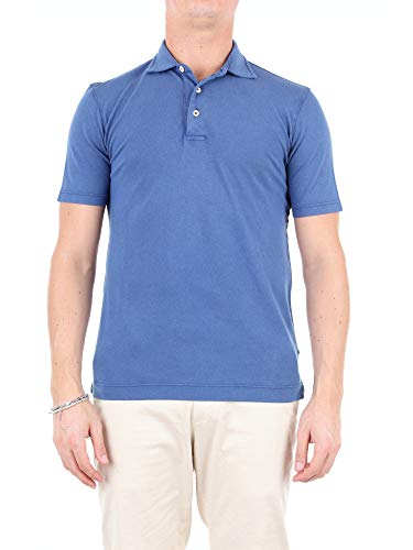 Circolo 1901 Luxury Fashion Mens CN2276BLUE Blue Polo Shirt   Season Outlet