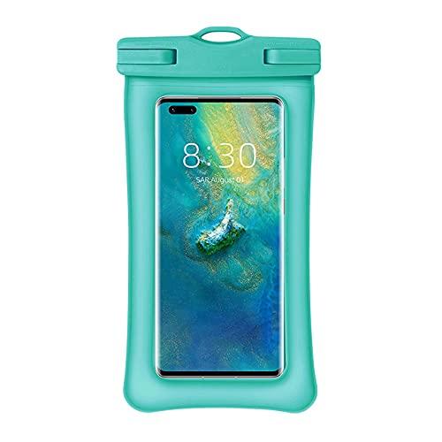 Xbd Funda Sumergible Móvil,Funda acuatica movil,airbag Anti-hundimiento,Apto para teléfonos móviles de Menos de 7.2 Pulgadas,Utilizado para mar,Surf y Rafting