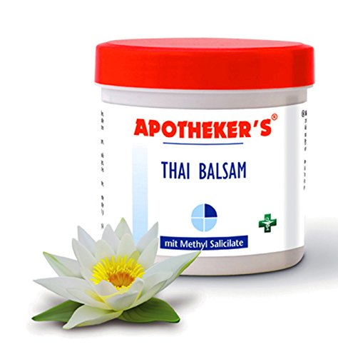 THAI BALSAM 250ml mit Methyl Salicilate APOTHEKER'S Massage Creme Lotion Salbe 50